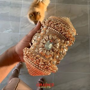 Rose Gold Luxe Purse